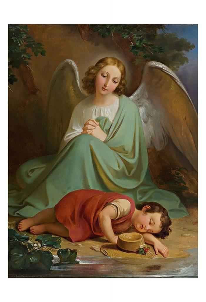 Projection astrale et ange gardien